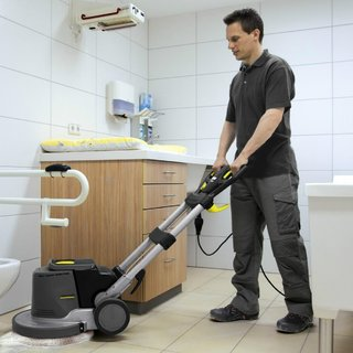 Floor Scrubber Polisher Hire
